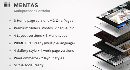 Premium Wordpress Portfolio Theme