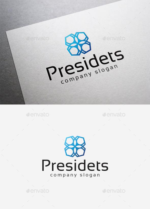 GraphicRiver Presidets Logo 10000023