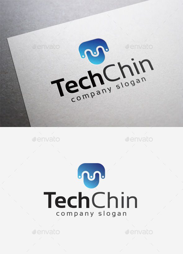 GraphicRiver Tech Chin Logo 10000064