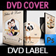 Wedding DVD Cover and DVD Label Template Vol.5 - GraphicRiver Item for Sale