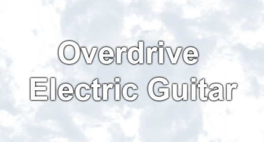 Overdrive Electric Guitar