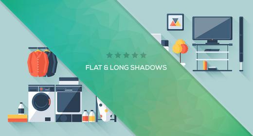 Flat & Long Shadows