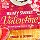 Be My Sweet Valentine Template - GraphicRiver Item for Sale