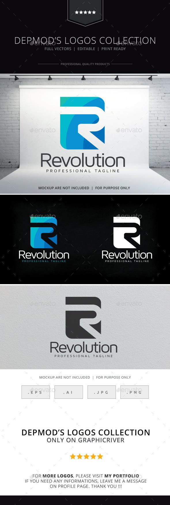GraphicRiver Revolution Logo 10000548