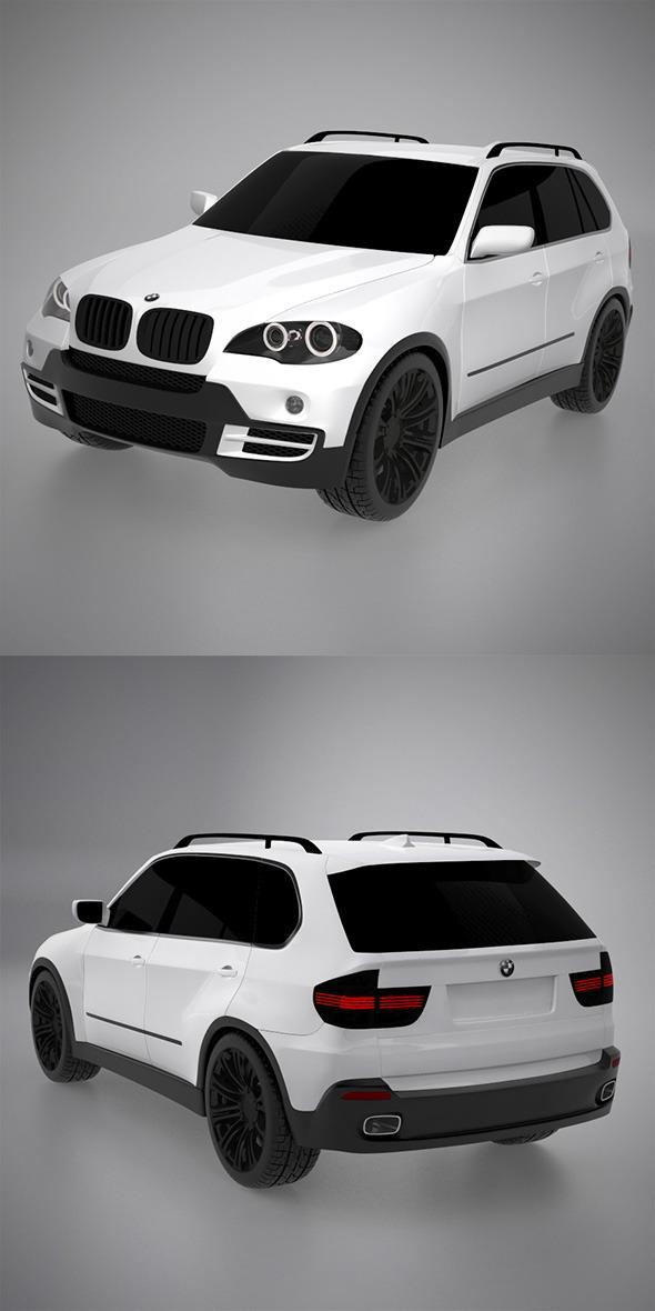 3DOcean BMW X5 3D model 9967611