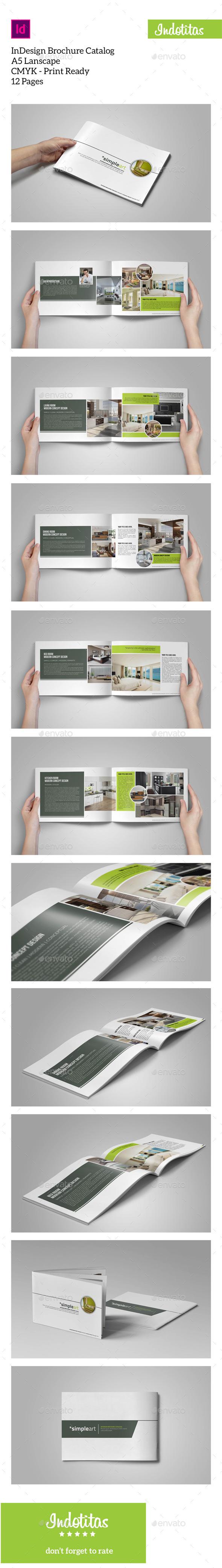 GraphicRiver A5 Brochure Catalogs Template 10000612