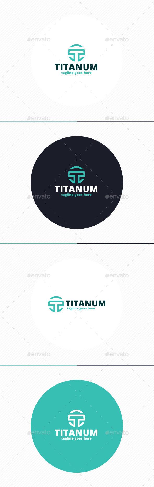 GraphicRiver Titanum Logo Letter T 10000875