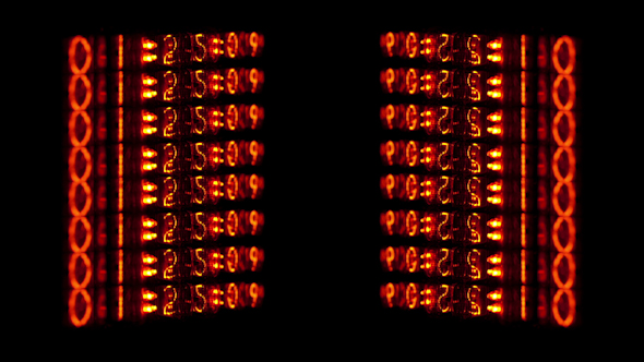 Nixie Tube Clock Numerical Counter 3