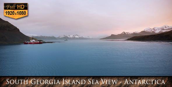 South Georgia Island Sea View