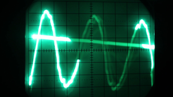 Oscilloscope Graphics 12