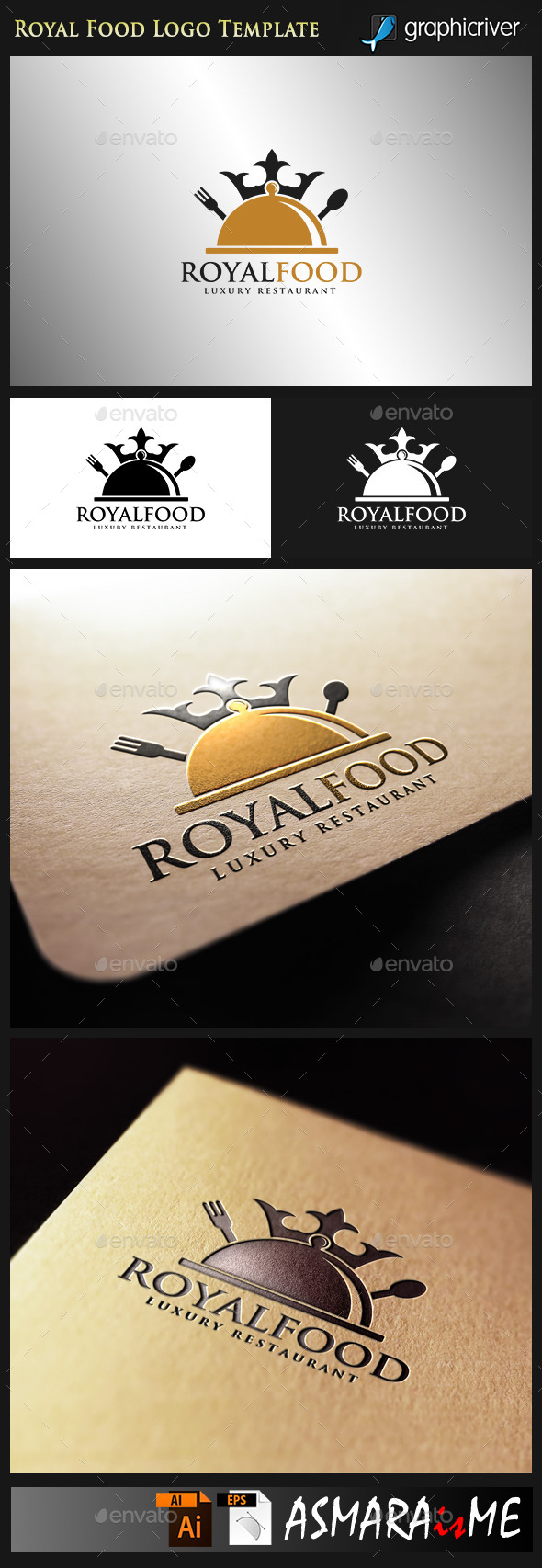 GraphicRiver Royal Food Luxury Restaurant 10001246