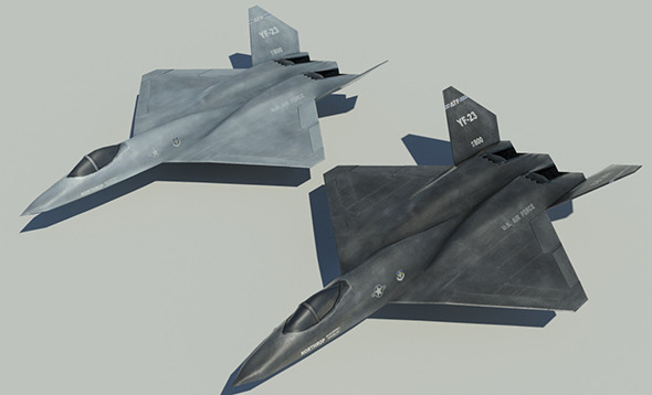 3DOcean Northrop YF-23 10001427