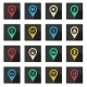 Set of Flat Place Icons - GraphicRiver Item for Sale