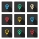 Set with flat icons - GraphicRiver Item for Sale