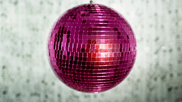 Pink Discoball 33