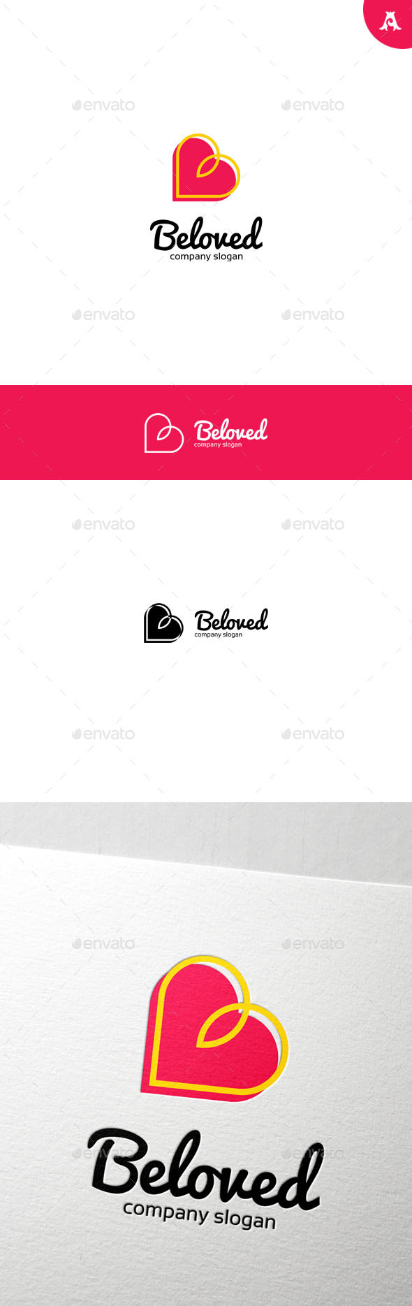 GraphicRiver Beloved Logo 10001800