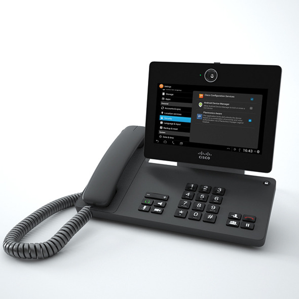3DOcean Cisco Phone DX650 10001951