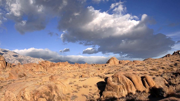 Alabama Hills Owens Valley Cloud Landscape