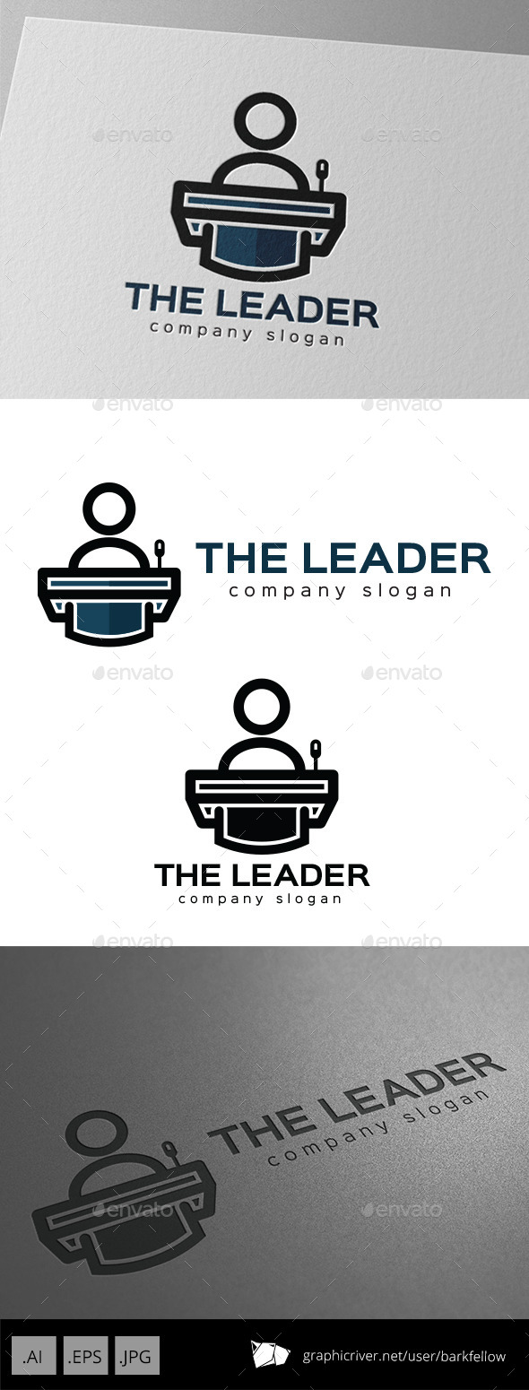 GraphicRiver Leader Speech Presentation Logo 10002109