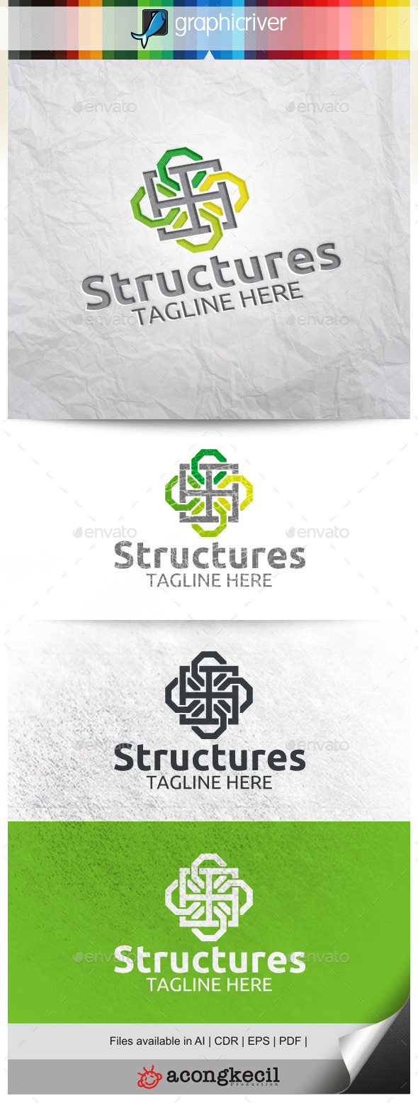 GraphicRiver Structures 10002138