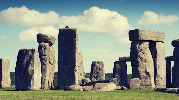Stone Henge England Tourism Monolith Stones 12