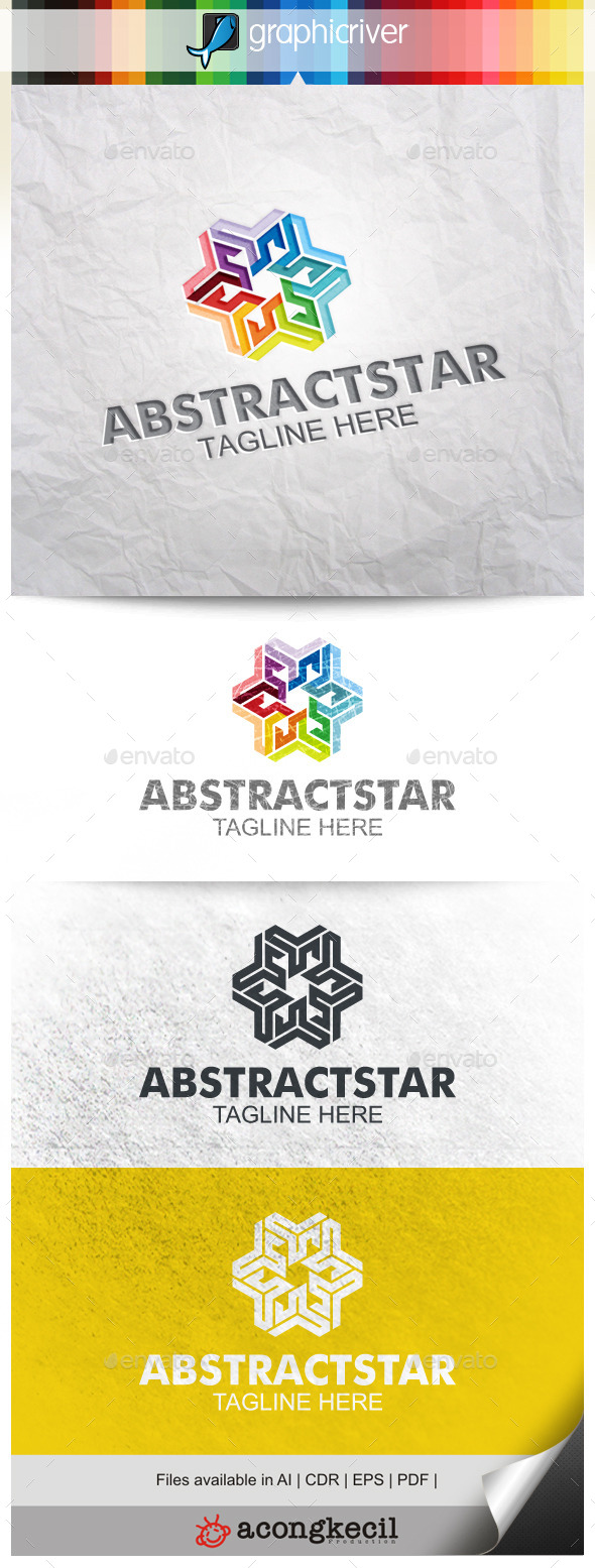 GraphicRiver Abstract Star 10002244
