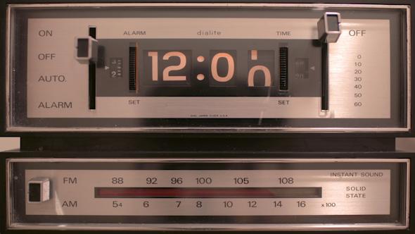 Vintage Flip Clock 1