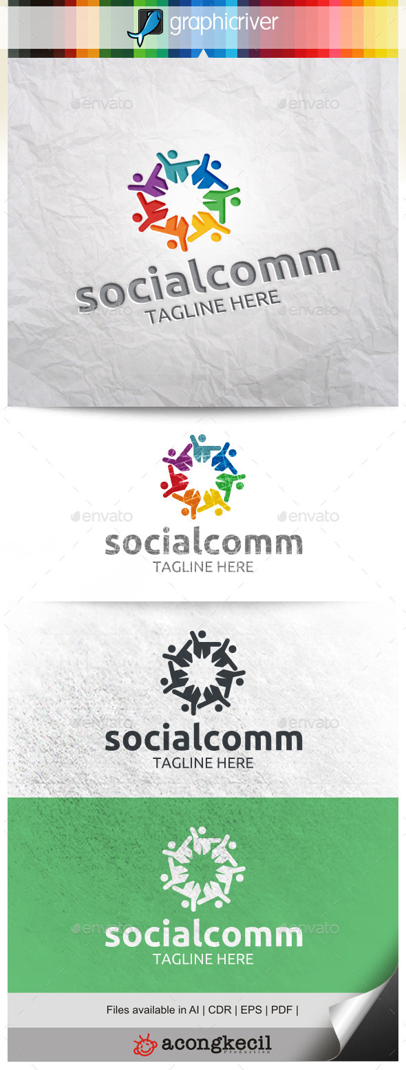 GraphicRiver Social Community V.5 10002255