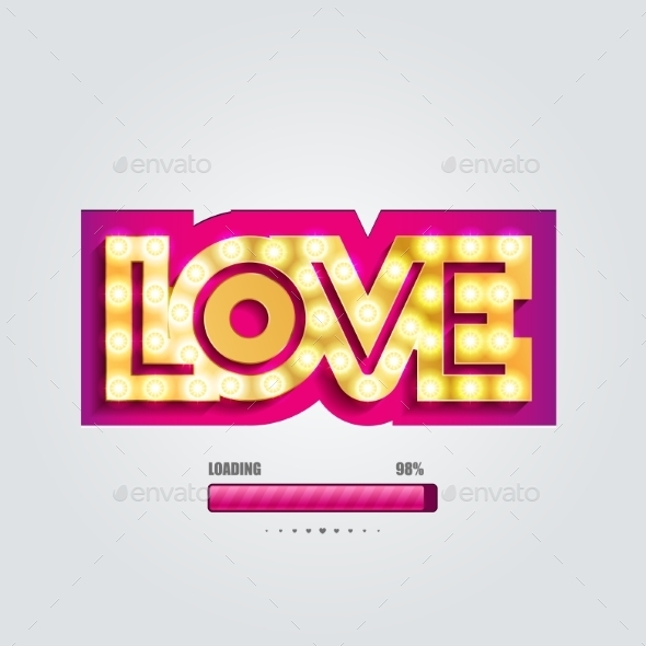 GraphicRiver Love Loading Bar 10002283