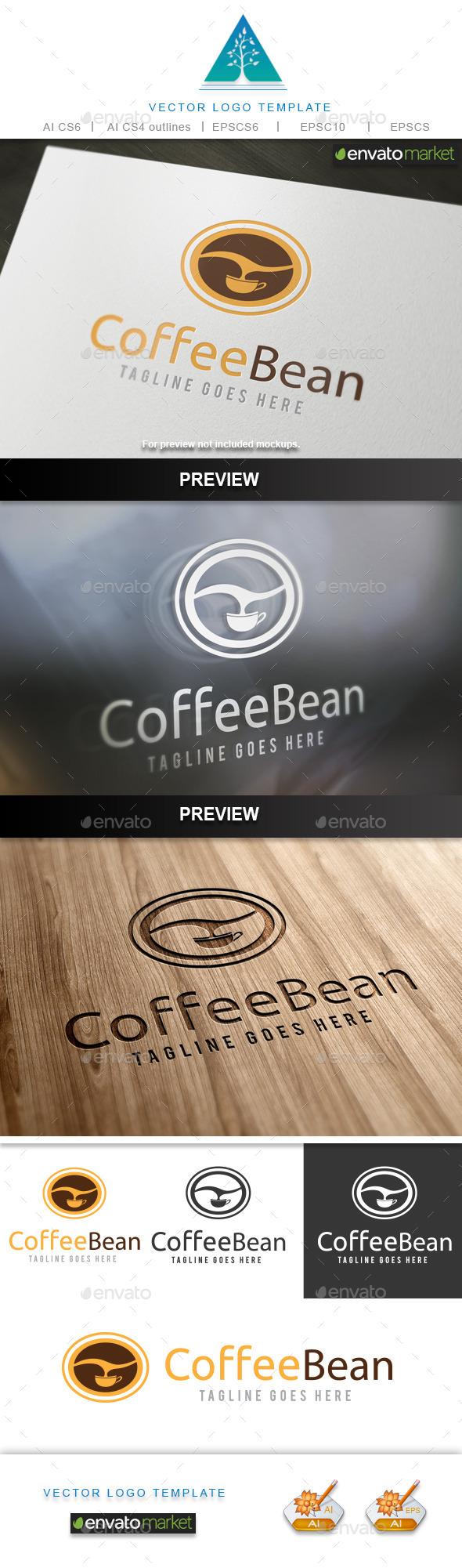 GraphicRiver Coffee Bean 10002316