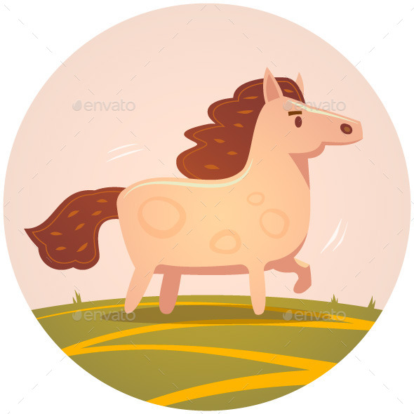 GraphicRiver Horse Illustration 10002333