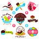Ice Cream Label - GraphicRiver Item for Sale
