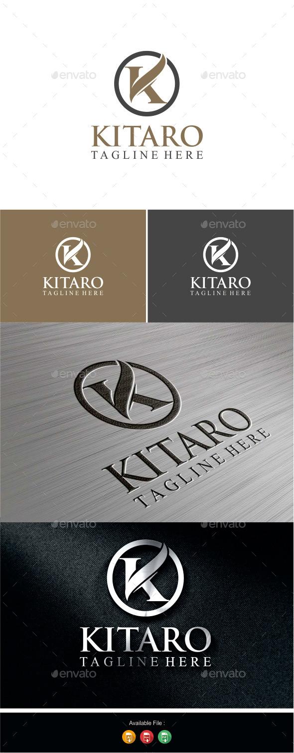 GraphicRiver Letter K Logo Kitaro 9989481