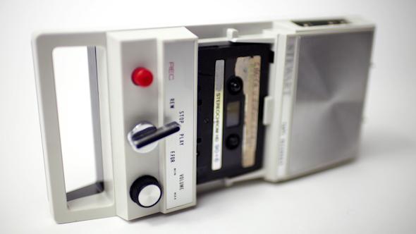 Tape Recorder Vintage Cassette 19