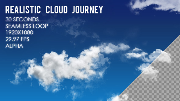 VideoHive Cloud Journey 9976699