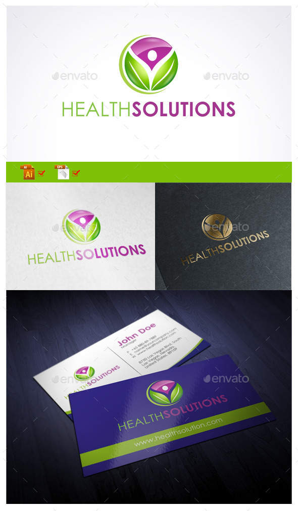GraphicRiver Health Solutions 10002545