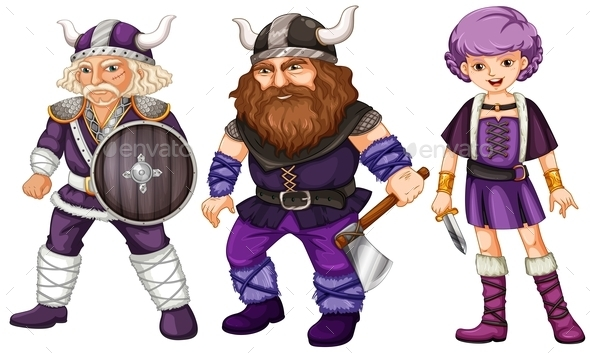 GraphicRiver Vikings 10002647
