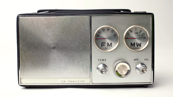Vintage Little Radio 1