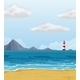 Light House and a Beach - GraphicRiver Item for Sale