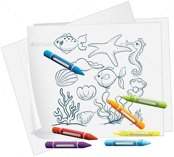 GraphicRiver Coloring Book Illustration 10002794