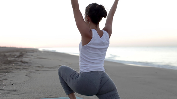 Yoga Beach Sunrise 3