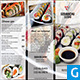Japanese Restaurant Trifold Brochure - GraphicRiver Item for Sale