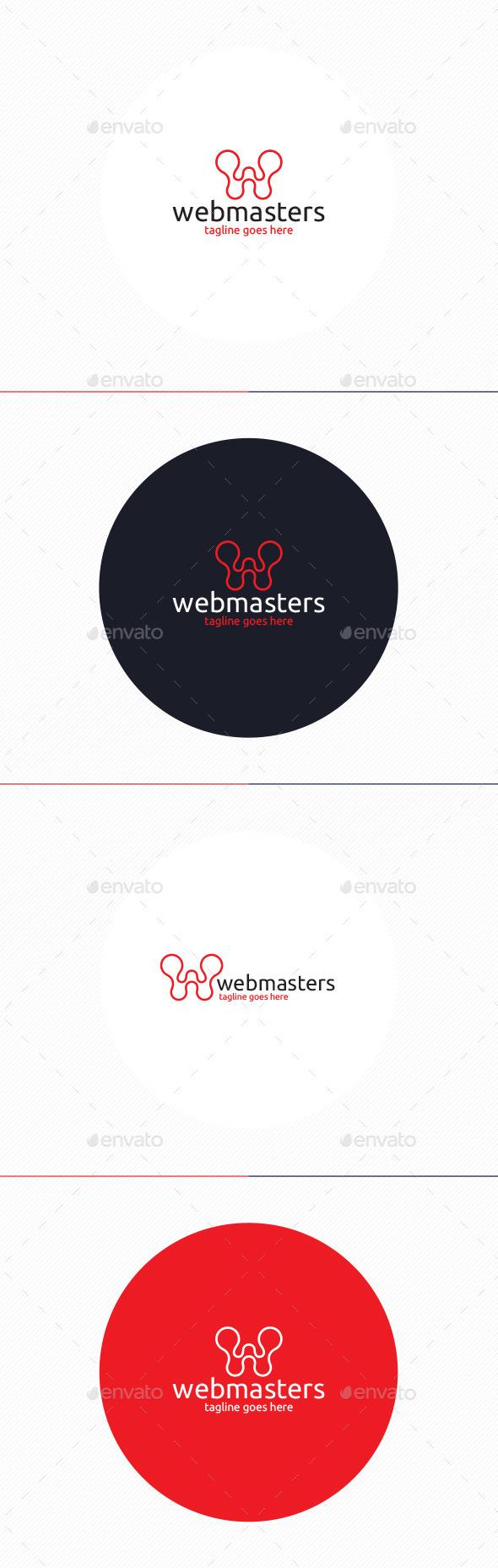 GraphicRiver Web Masters Logo Letter W 10003110