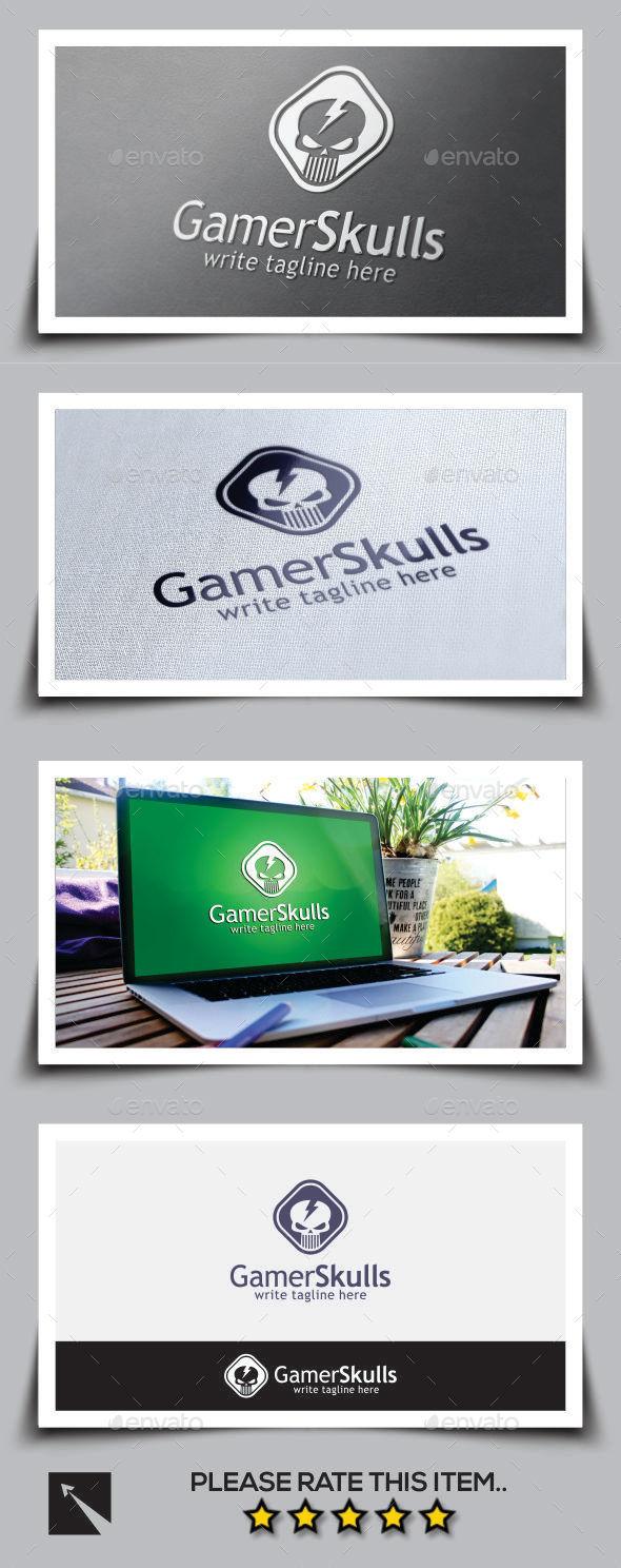 GraphicRiver Skull Logo Template 10003359