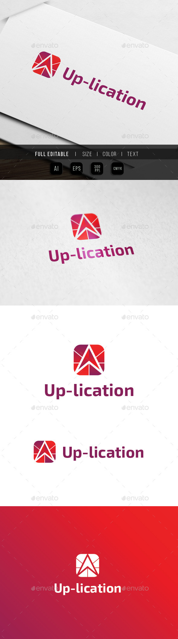 GraphicRiver Up Application Logo 10003523