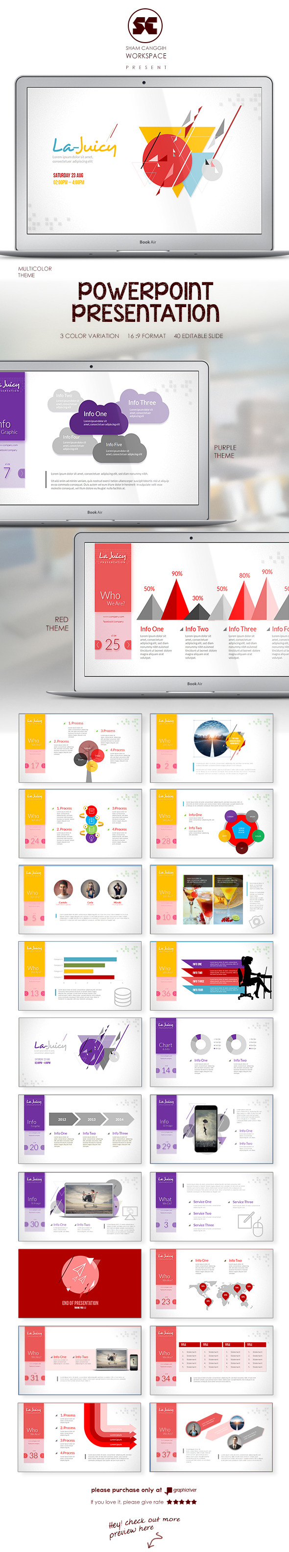 GraphicRiver PowerPoint Presentation Template 10003662