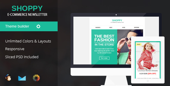ThemeForest Shoppy Responsive Email Template 10003842