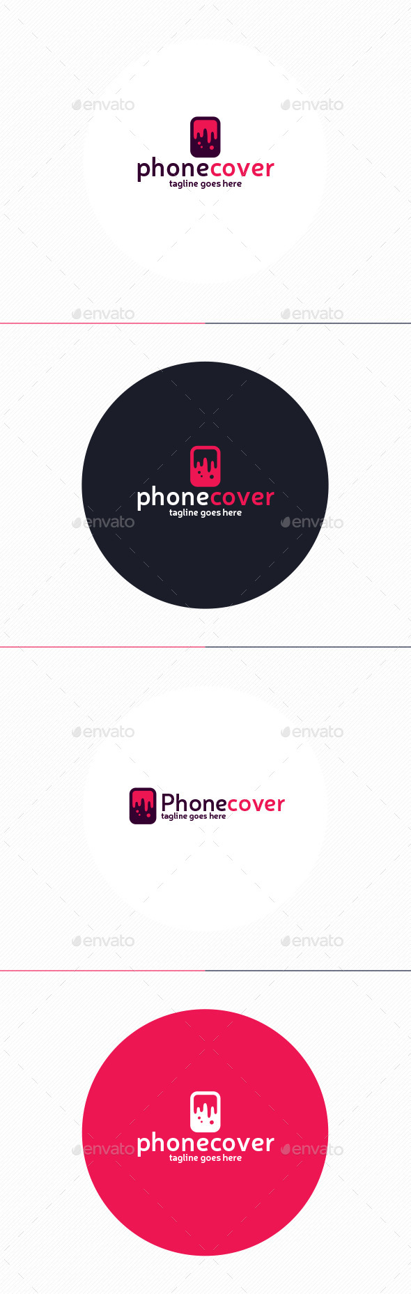 GraphicRiver Phone Cover Logo 10003886