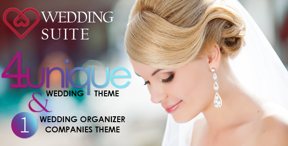 Wedding Suite - WordPress Wedding Theme