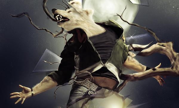 TutsPlus Transform a Human into an Abstract Werewolf 126677